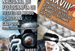 Concursos de fotografía y carteles de Moros y Cristianos de Calp